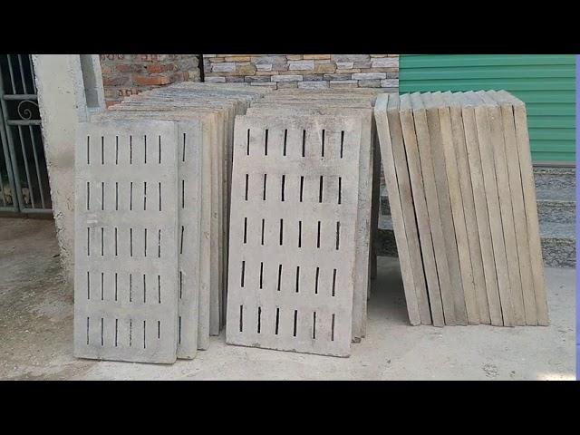 Tấm đan bê tông giá rẻ tại Vinh